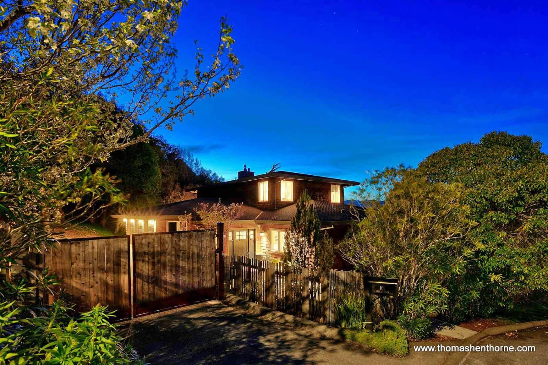101 Chula Vista Drive San Rafael front entry