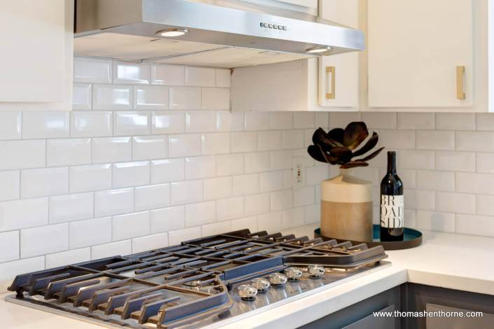 cooktop in kitchen