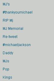 Twitter MJ nr. 1