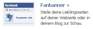 Facebook Widget Fanbanner