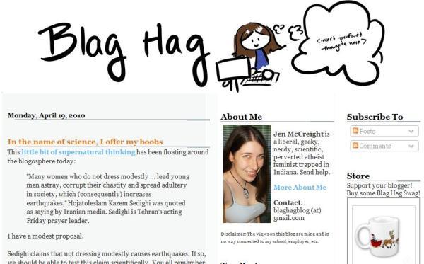 Jen McCreight Blog