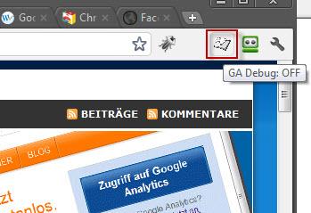 Google Analytics Debugger aktivieren