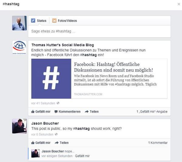 Beiträge mit gleichem #Hashtag