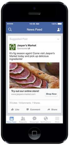 "Facebook Page Post Ads mit neuen ""Call to Action""-Buttons"