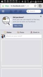 Facebook Post Search