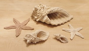 Crochet Conch Shells