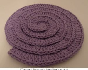 Crochet Double Thick Coaster