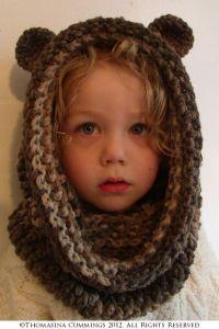 Crochet Bear Snood