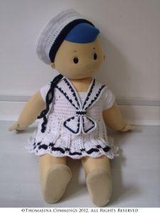 Crochet Sailor Girl