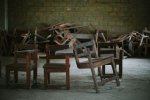 Chairs is the most common problem in Liberia.