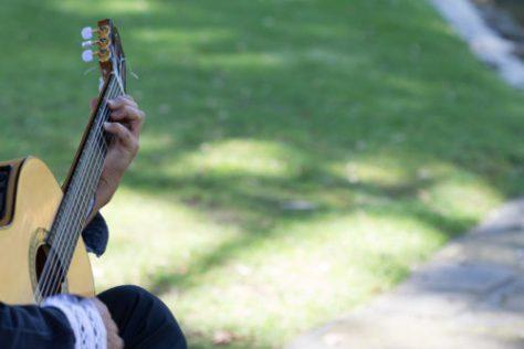 Creativity through guitar music
