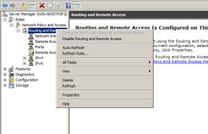 Add Static address pool