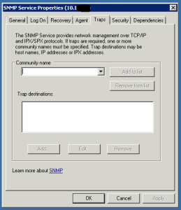 SNMP Service