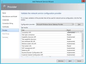 Validate Hyper-V Network Virtualization Gateway