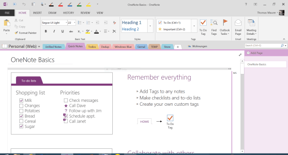 This is why onenote is awesome thomas maurer onenote overview pronofoot35fo Choice Image