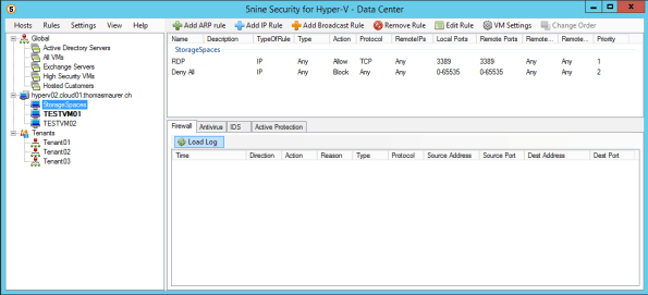 5Nine Hyper-V Security Console