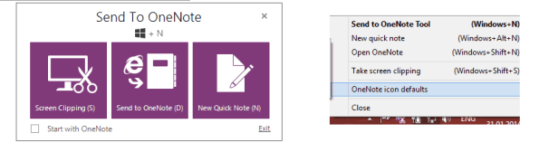 "With the Send to OneNote function you can quickly add notes without having  to open the OneNote application itself. By using the ""Windows + N"" keyboard  ..."