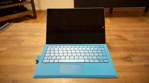 Surface Pro 3 with Type Cover