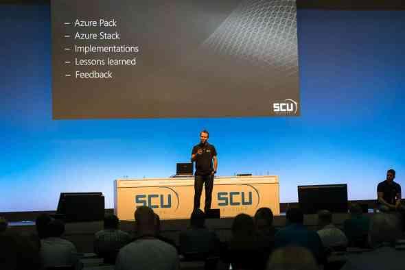 SCU Europe 2015 Azure Pack