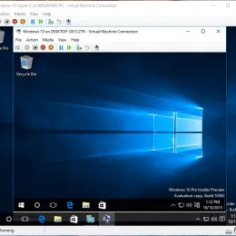 Hyper-V Nested Virtualization