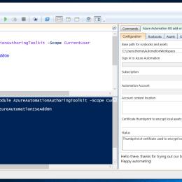 Azure Automation PowerShell ISE Add-on