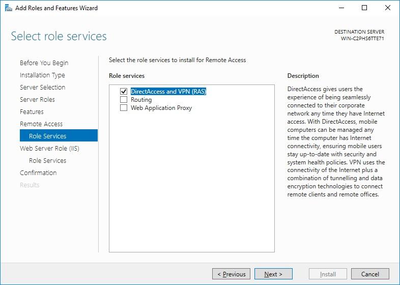 ras protocol  windows 7