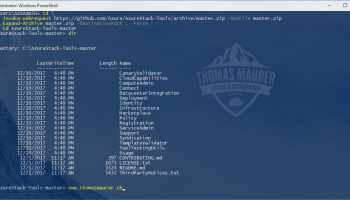 How to Install Azure CLI on Windows (one-liner) - Thomas Maurer