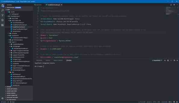 Visual Studio Code Theme Atom One Dark