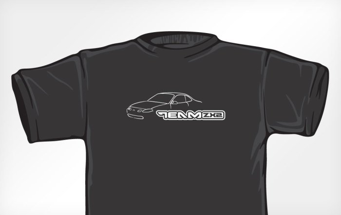 TeamZX2 T-shirt design (2005)