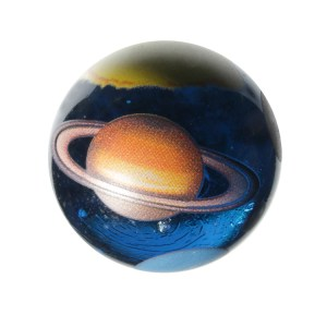 """The beautiful oversized """"Planet Marble"""" from House of Marbles. (House Of Marbles Online)."""