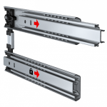 Features And Systems Drawer Runners Telescopic Slides