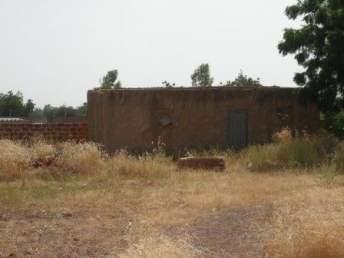 La parcelle de Thomas Sankara (photo Bruno Jaffre)