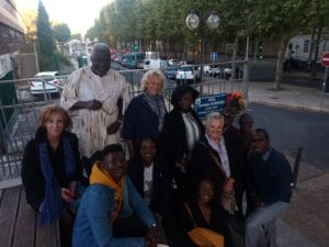 à l'Allée Thomas Sankara