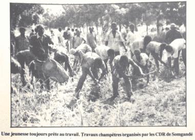 Les CDO organise la population (photo Carrefour Africain)