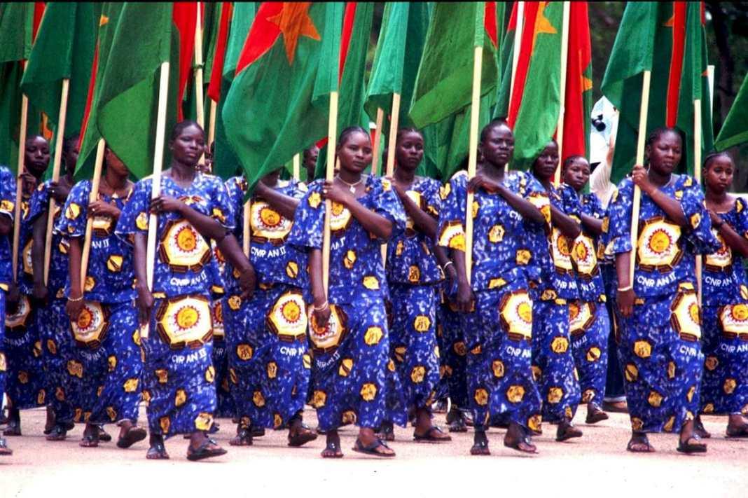 4 aout 1986 à Ouagadougou
