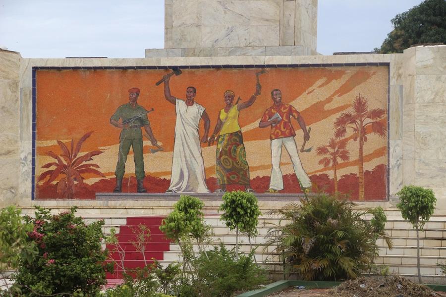 Peinture place de la Révolution