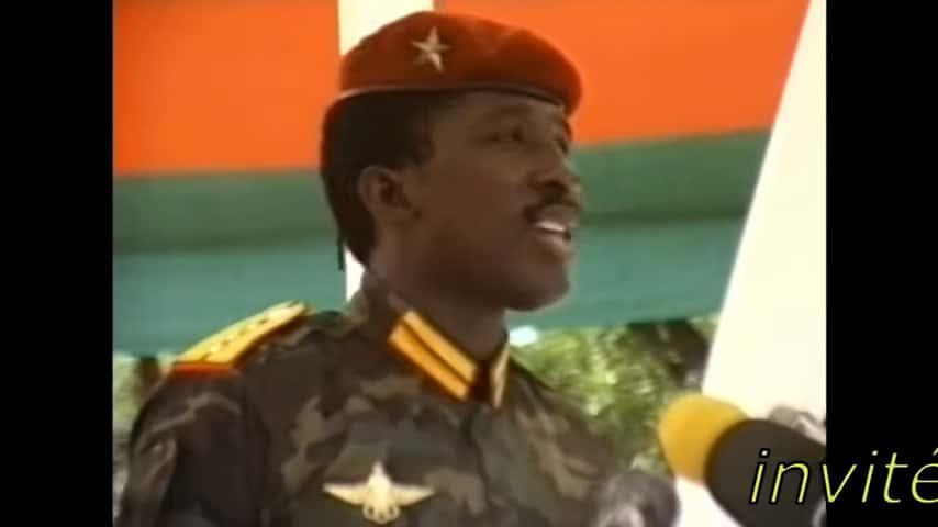 Sankara prononce le discours du 4 aout 1986