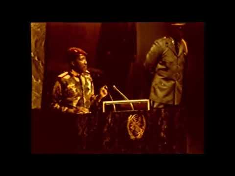 Video del Discorso di Thomas SANKARA all'ONU