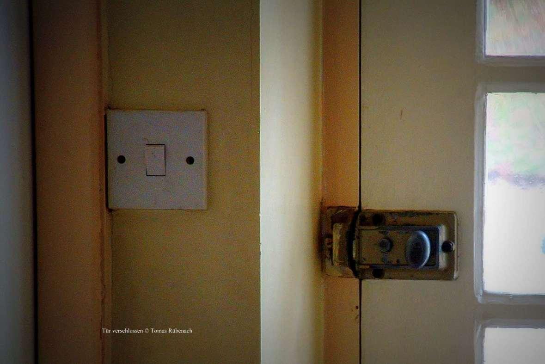 Tür verschlossen © Tom Rübenach