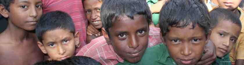 Kinder im Norden, in der Region Rangpur © Tom Rübenach