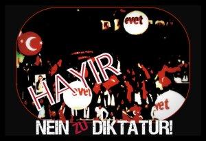 HAYIR-nein-zu-diktatur-bildbearbeitung-tom-ruebenach