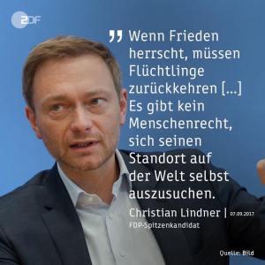 FDP: Globalisierung für Konzerne und Reiche, nicht für Flüchtlinge