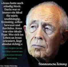 Heiner Geißler: Notwendiger Streit