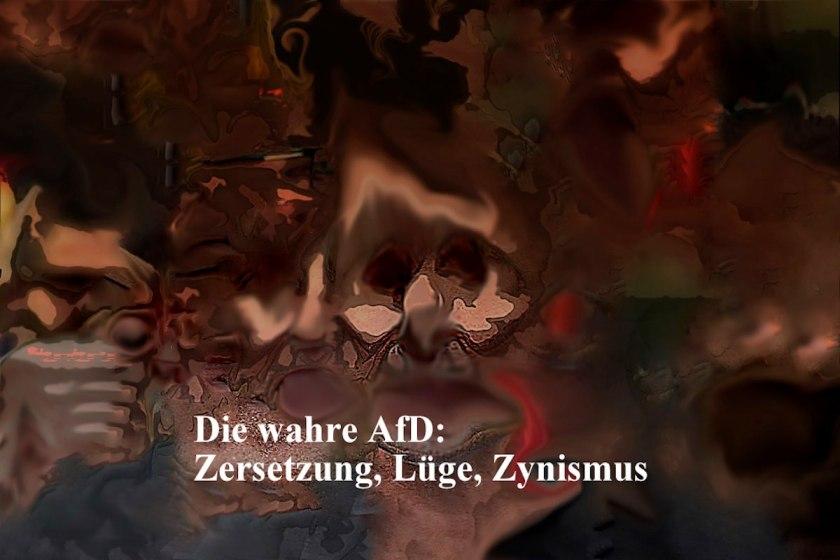 Titelbild der Galerie: Die wahre AfDD. Zersetzung, Lüge, Zynismus