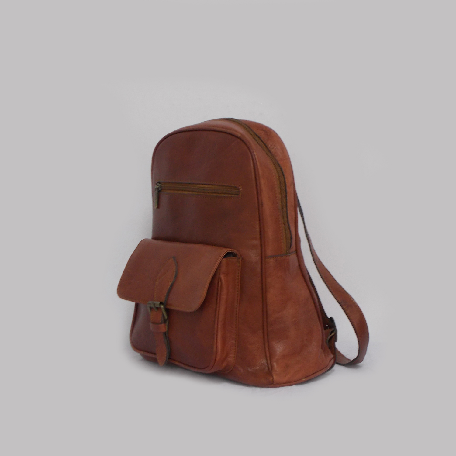 Mochila Backpack Thomassi Collection 2020 Handmade Leather