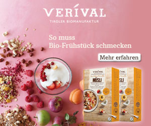 Verival - So muss Bio-Frühstück schmecken!