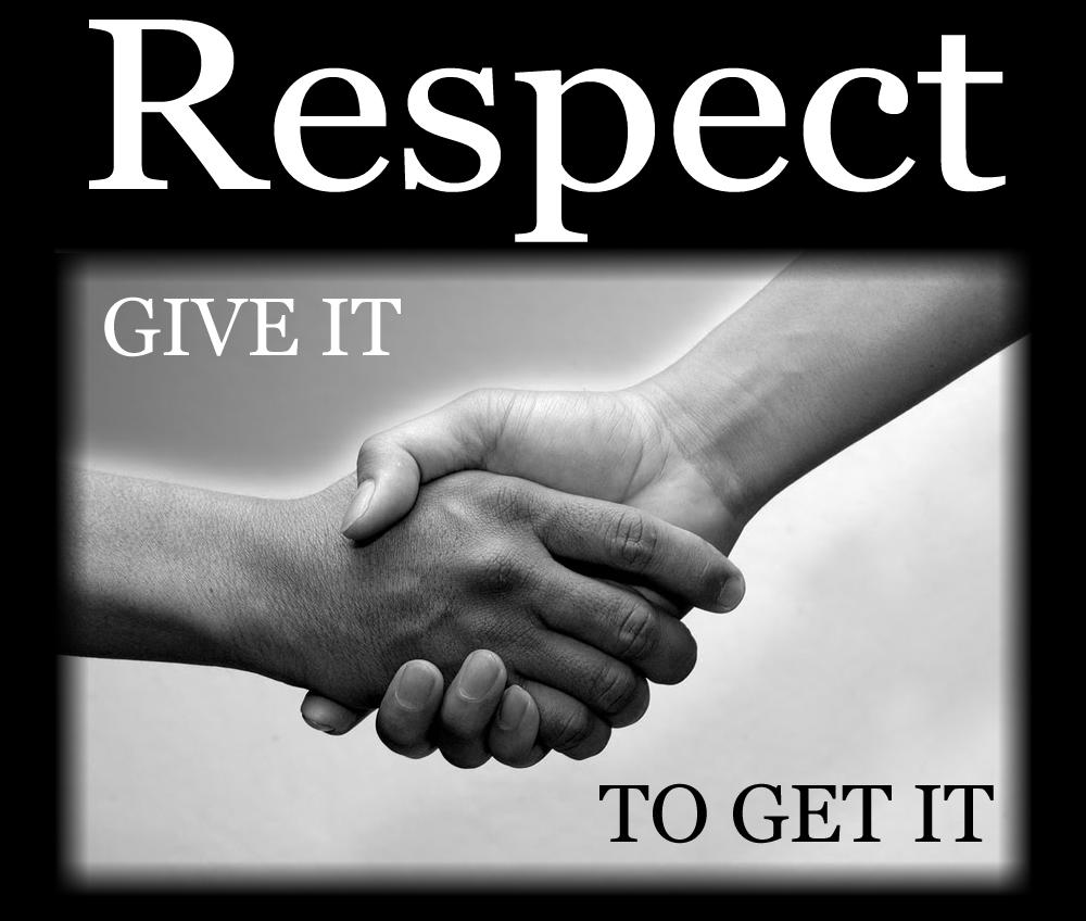 handshake respect earn it
