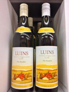 Même étiquette, mais deux fournisseurs pour deux millésimes différents, pour ce Luins vendu par Denner.