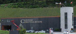 Giroud Vins a été remplacé par Château Constellation sur la cave ultramoderne de Sion (©Paul Vetter, www.valaisduvin.com)