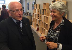 Michel Logoz et Madeleine Gay.
